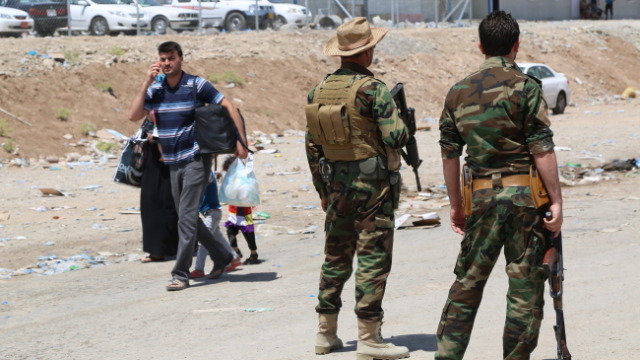 """Londyn: Będzie pomoc dla irackich cywili. """"Nie"""" dla interwencji"""