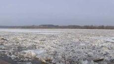 Zator lodowy w Kazimierzu Dolnym (Urząd Miasta w Kazimierzu Dolnym)