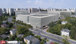 Tak może wyglądać nowy dworzec przy stacji metra Wilanowska