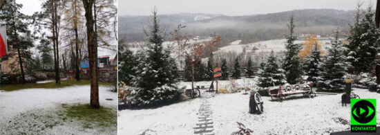 Śnieg w Zakopanem. <br />Część z was poczuła zimę