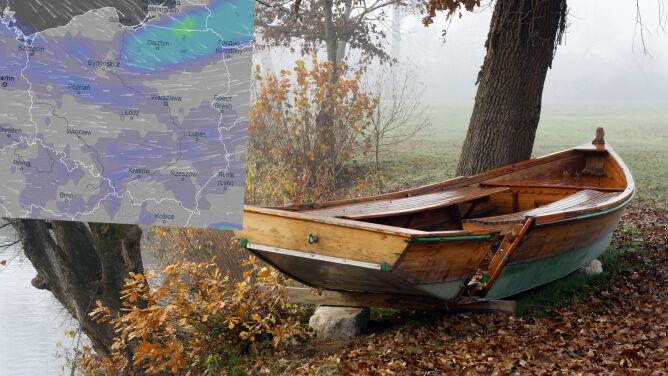 Pogoda na 5 dni: Polska w objęciach chłodnego i wilgotnego powietrza